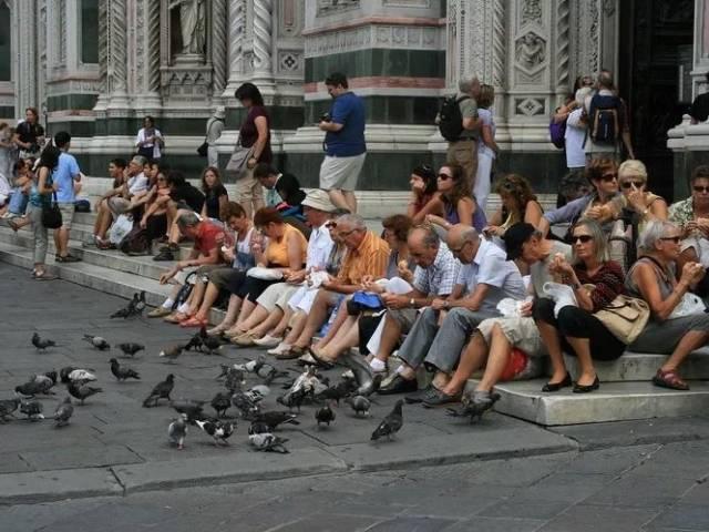 Флоренцию отмывают от туристов, Туристам Коломны, Отпуск