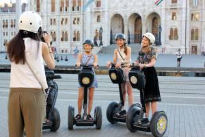 В центре Будапешта запрещены сегвеи и гироскутеры