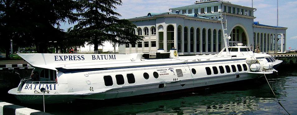 Восстановлено морское сообщение между Сочи и Батуми