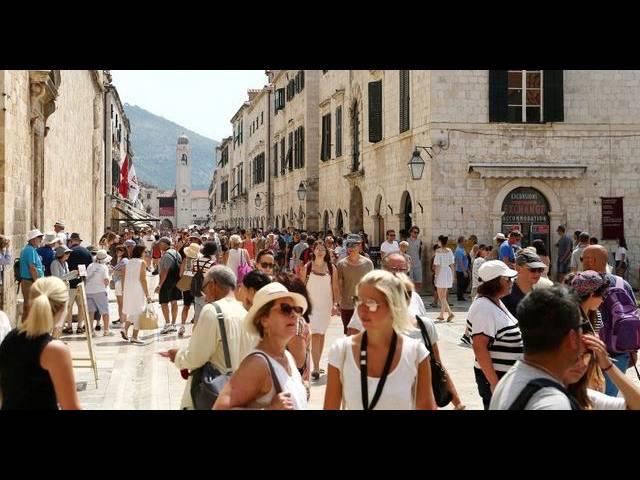 Дубровник оказался под угрозой из за массового туризма, Туристам Коломны, Хорватия Путешествие Греция Венеция