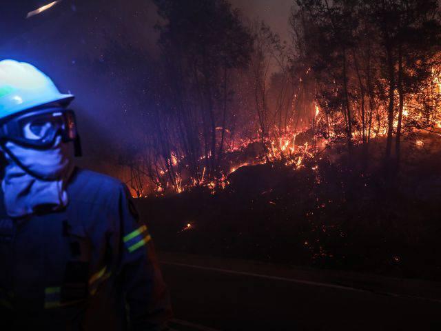 Пожары на юге Европы: вместе с Португалией горит Испания, Туристам Коломны, Отдых Испания