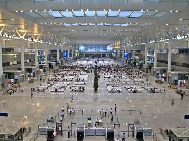 В китайском аэропорту 90 процентов пассажиров  делают это самостоятельно, Туристам Коломны, Отдых аэропорт