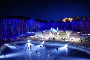 В Японии построют город из льда с часовней, гостиницей и магазином