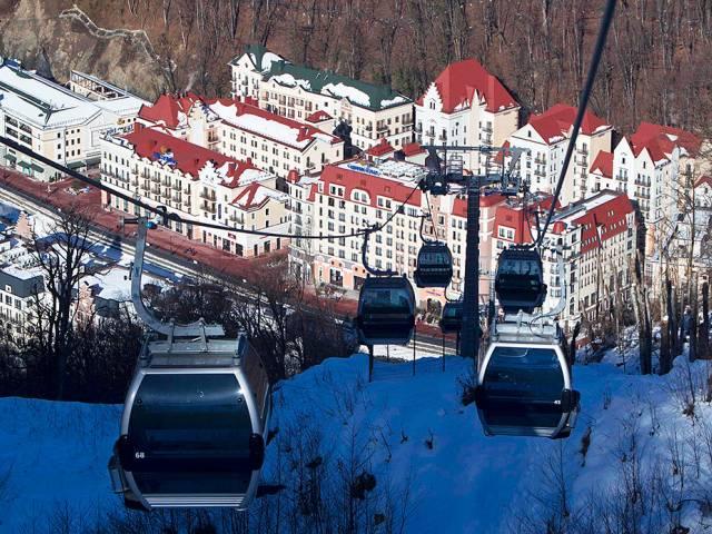 Названы лучшие горнолыжные курорты в России и мире, Туристам Коломны, Франция Сочи Россия Отпуск горнолыжный курорт бутик отель