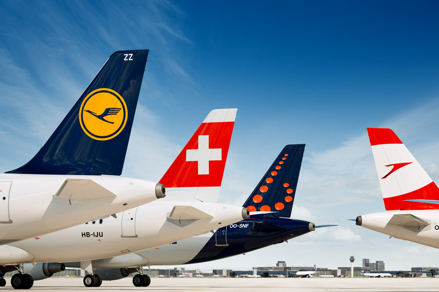 Авиакомпания Lufthansa сделала рекордные 284,56 миллиардов пкм