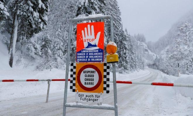 В Австрии объявлена опасность схода лавин в Альпах, Туристам Коломны, Чехия Франция Отдых Италия горнолыжный курорт Германия