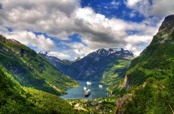 Никогда еще норвежские фьорды не стоили так дёшево, Туристам Коломны, Финляндия Норвегия водопад виза автобус