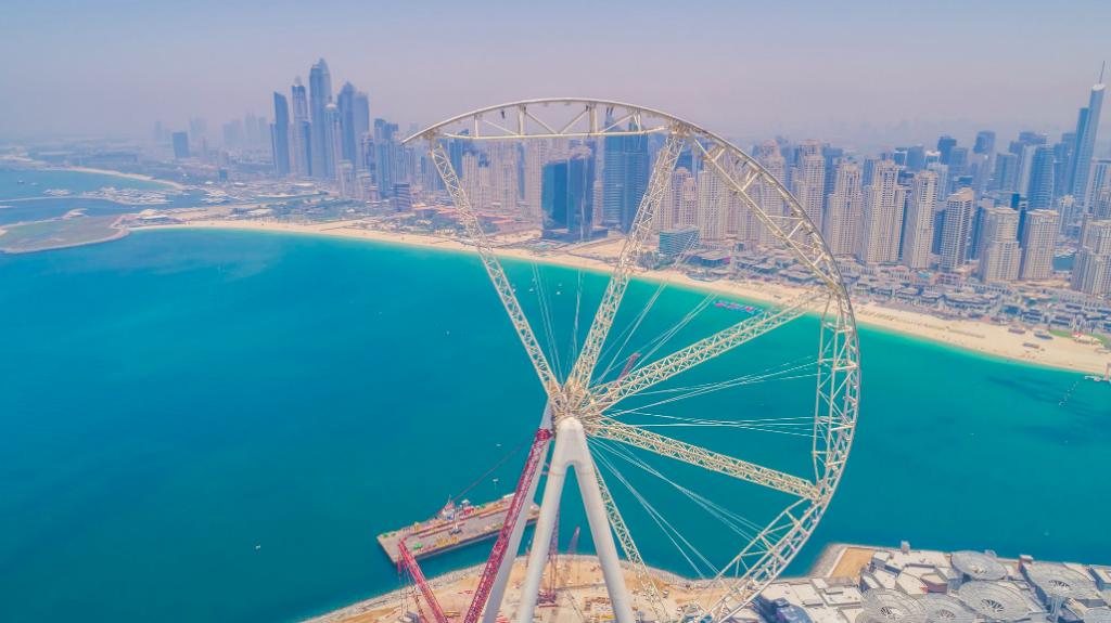 Дубай ставит очередной рекорд. Такого колеса еще не было, Туристам Коломны, Достопримечательности
