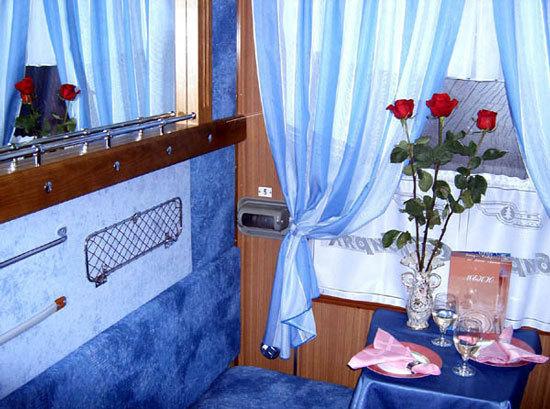 Фирменный поезд Сибиряк.