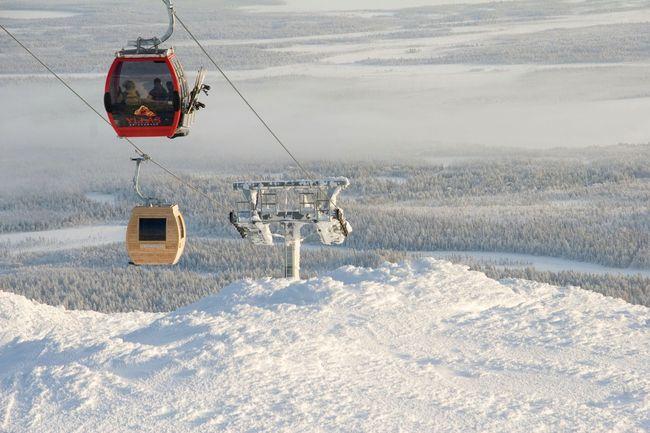 Летучая сауна-гондола, Финляндия