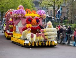 Нидерланды с TURIZM'ом: Харлем, Парад цветов