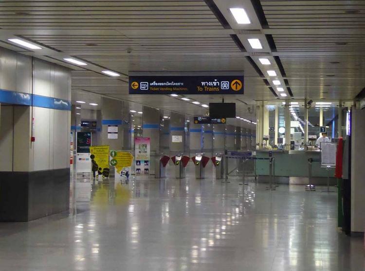 Как выглядит «новое» метро Бангкока, и куда теперь на нем можно доехать