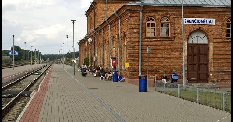 Вокзал в Швенчёнеляй