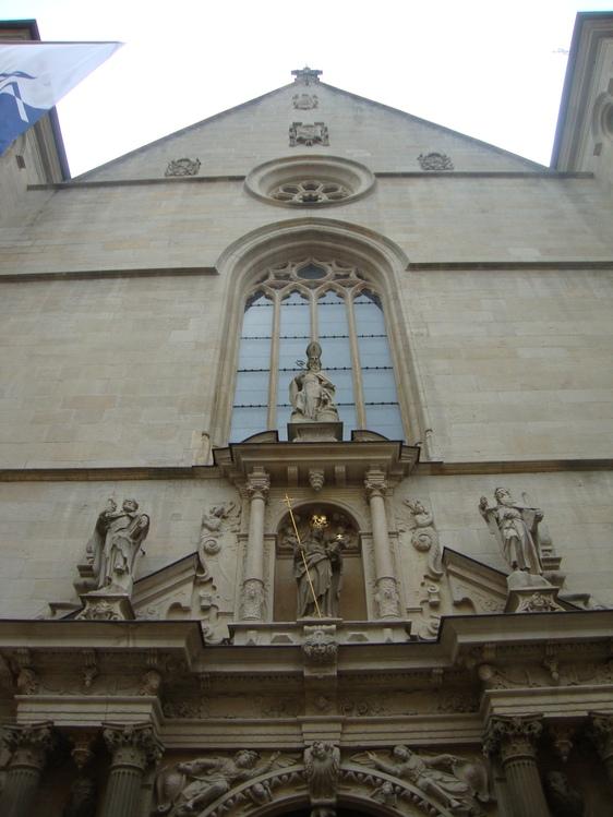 Люксембург. собор Нотр-Дам
