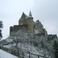Замок Bourscheid в 40 км севернее Люксембурга
