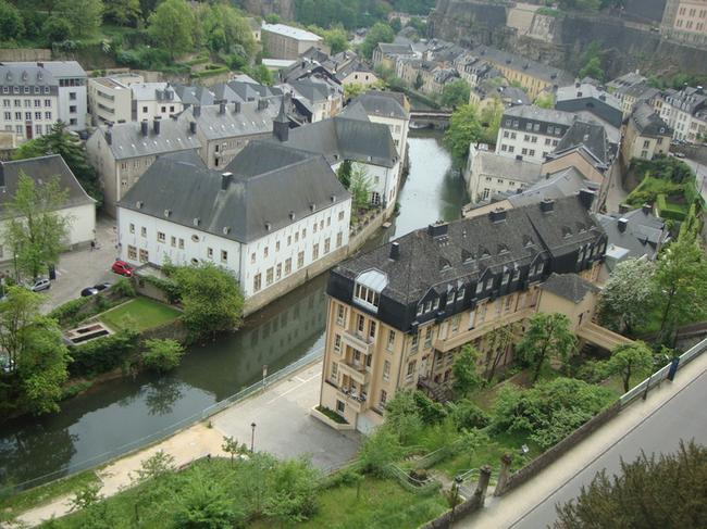Люксембург.  Нижний город