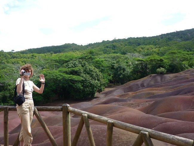 Семицветная земля Chamarel