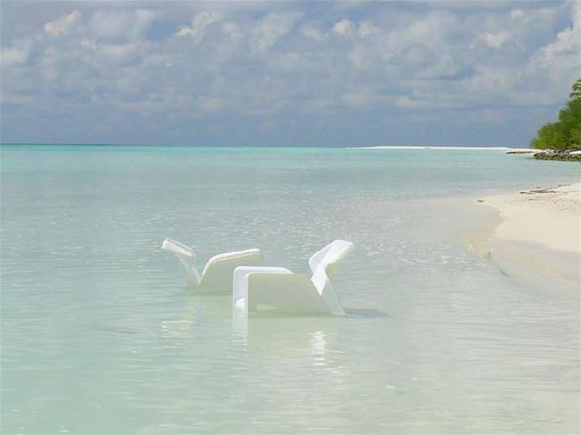 Пляж Блю Лагун. Прилив