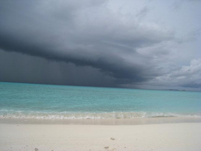 Дождь, восхитительное зрелище!