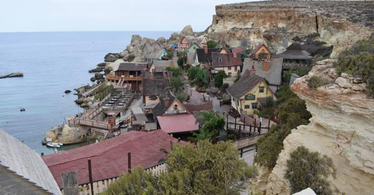 Деревня Попая