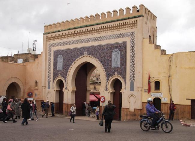 Одни из ворот Медины