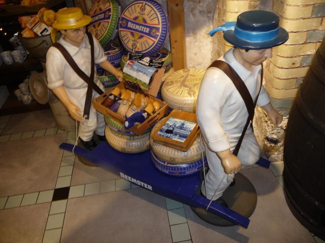 Амстердам, сырный магазин