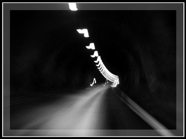 Один из множества тоннелей Норвегии.