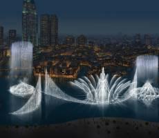 Поющие фонтаны Дубая