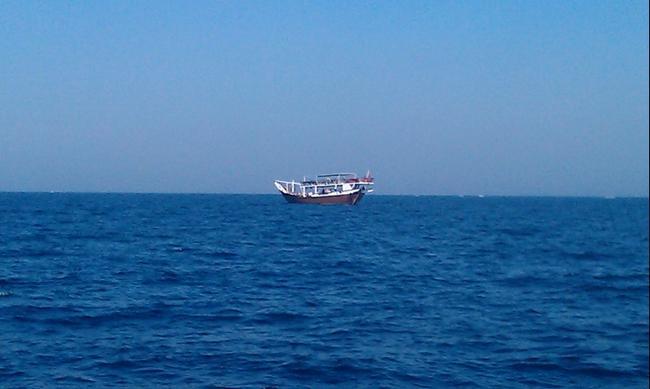 Индийский океан. Апрель 2016.