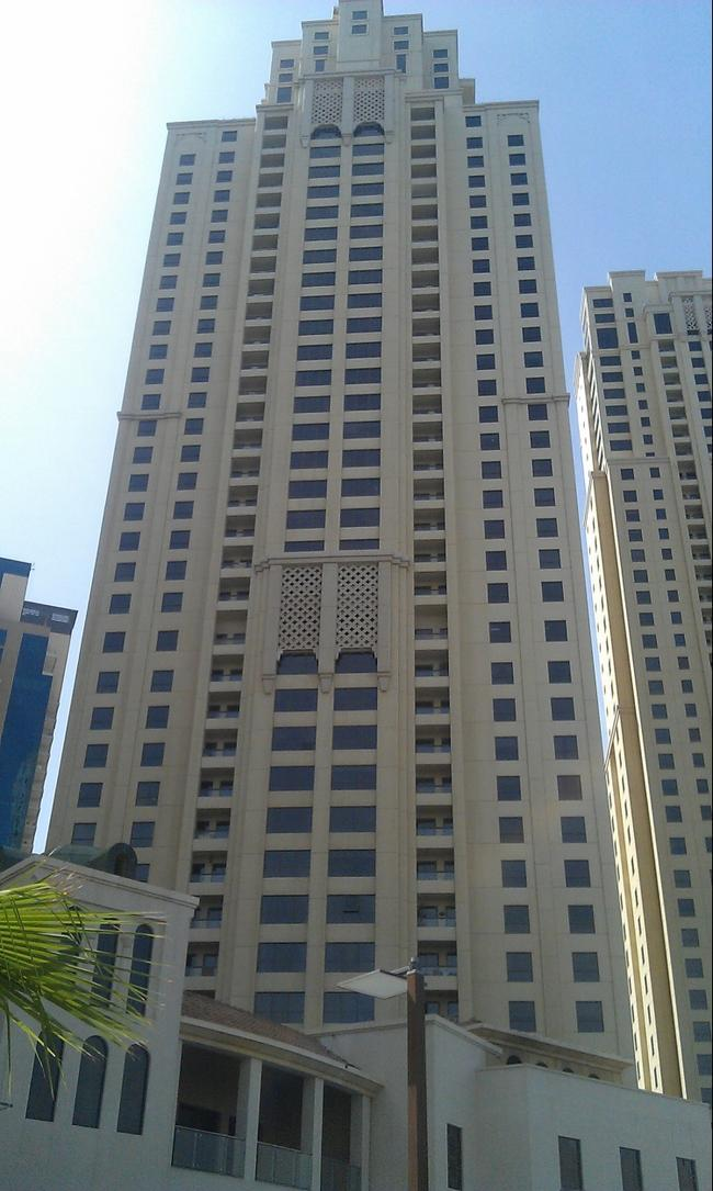 Небоскрёбы Дубая. Апрель 2016.