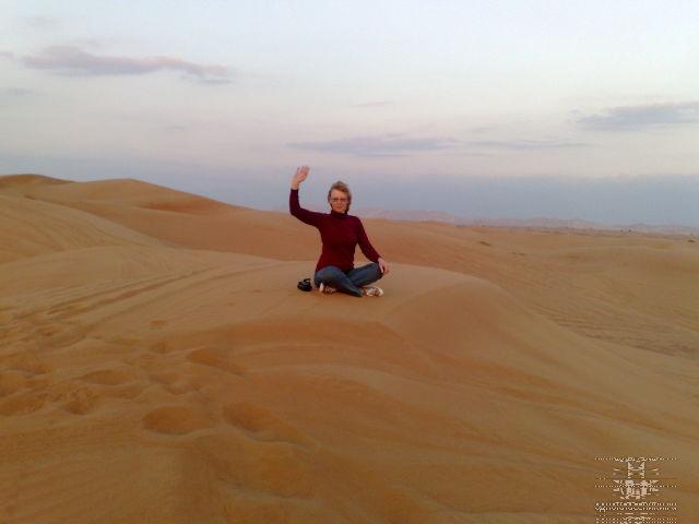 Красные пески Эмиратов