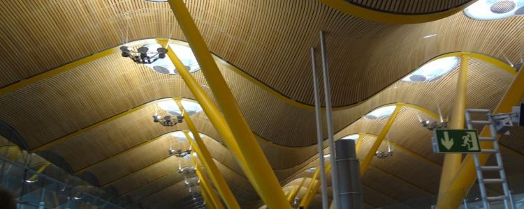аэропорт Барахас в Мадриде