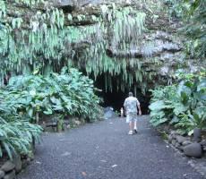 Maraa Grotto, Таити