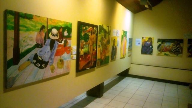 о.Хива Оа, музей Гогена
