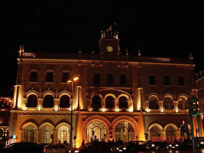 Тот самый вокзал, с которого мы отправились в Синтру