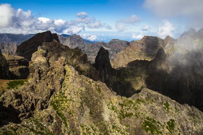 Фантастические горы Мадейры