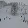 Хвалынский горнолыжный курорт. Трасса гигантского слалома