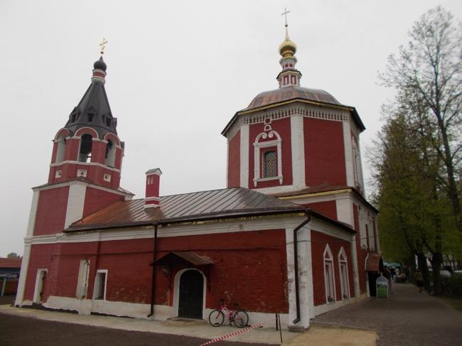 Успенская церковь 17 века
