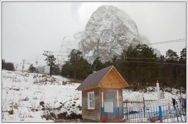 Гора Монах.