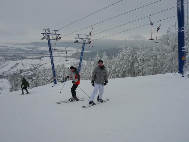 Хвалынский горнолыжный курорт. Отдыхающие