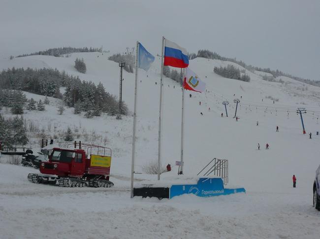 Хвалынский горнолыжный курорт. Пьедестал для чемпионов