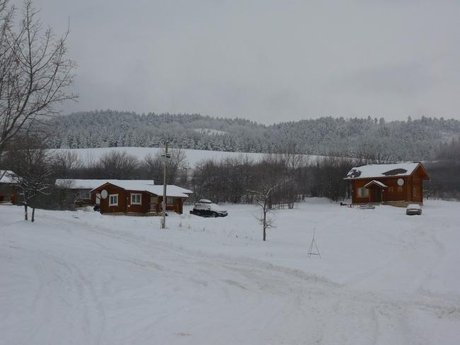 Хвалынский горнолыжный курорт. Домики для гостей