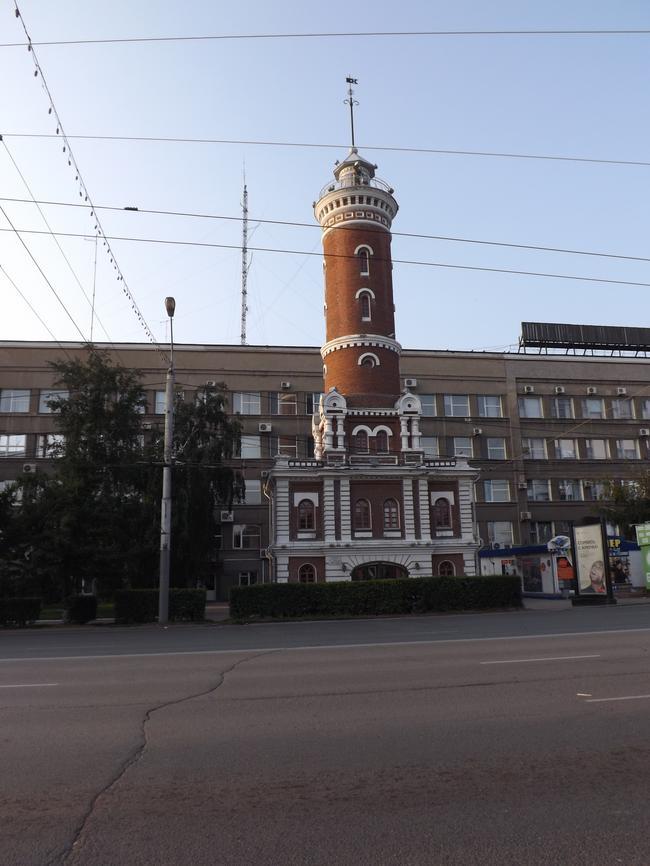 Омск. Пожарная колонча