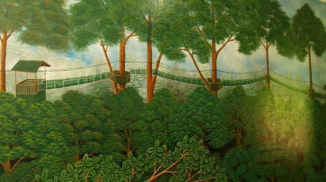 Тростниковые мостики