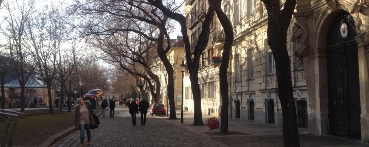Центральная улочка Братиславы