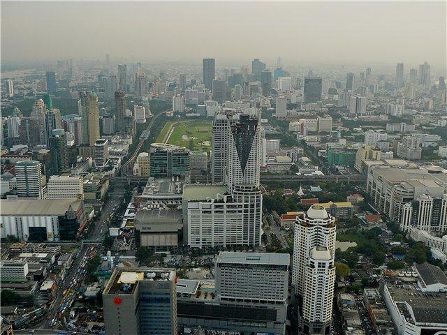 Бангкок с высотки Baiyoke Sky
