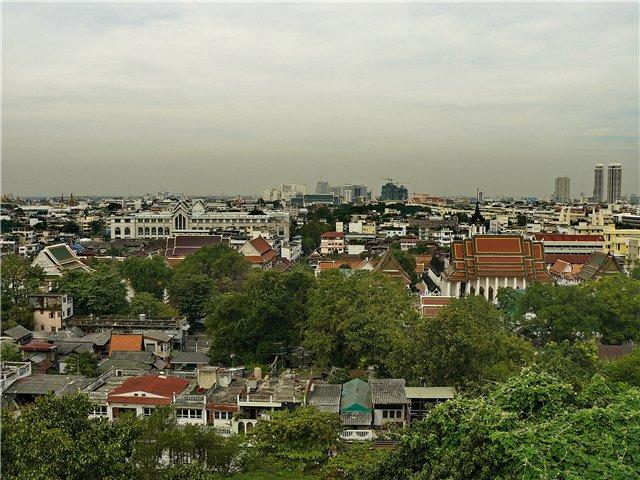Бангкок с Золотой горы