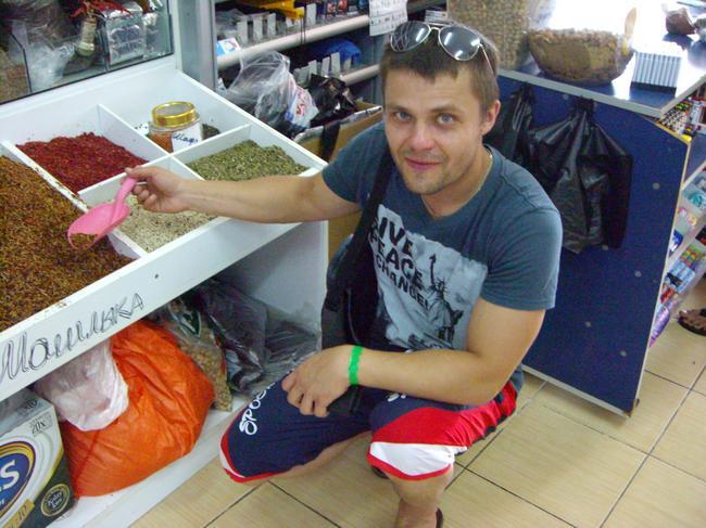 Турецкий рынок - специи, сладости