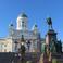 Кафедральный собор и памятник Александру II