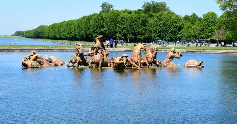 В Версальском парке